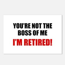 You're Not The Boss of Me Postcards (Package of 8)