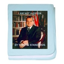 i am not a crook baby blanket