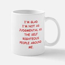 self righteous Mug