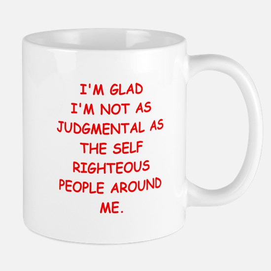 self righteous Mug