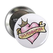 Sweetheart Shannon Custom Princess Button
