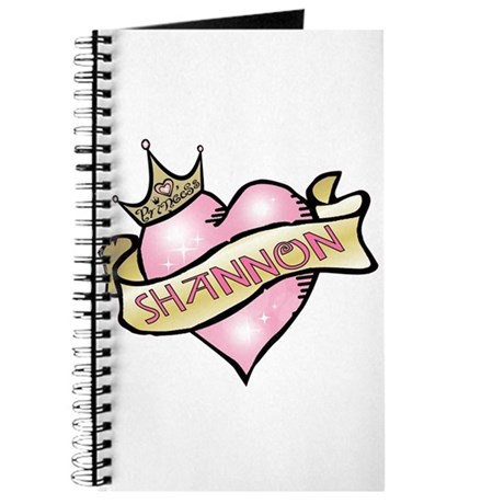 Sweetheart Shannon Custom Princess Journal