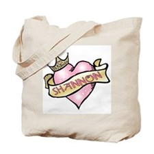 Sweetheart Shannon Custom Princess Tote Bag