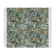 Easy Money Throw Blanket