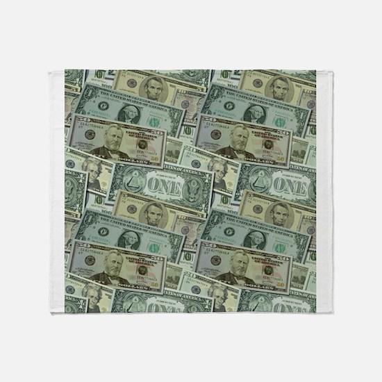 Easy Money Throw Blanket