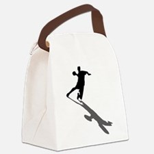 Handball Player Canvas Lunch Bag