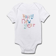 Pastel Happy New Year Infant Bodysuit