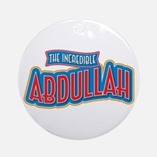 The Incredible Abdullah Ornament (Round)