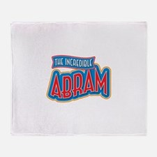The Incredible Abram Throw Blanket