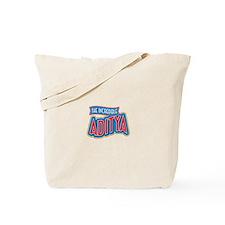 The Incredible Aditya Tote Bag