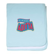The Incredible Aditya baby blanket