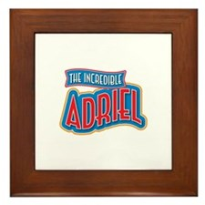 The Incredible Adriel Framed Tile