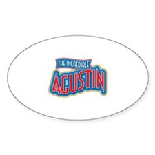 The Incredible Agustin Decal