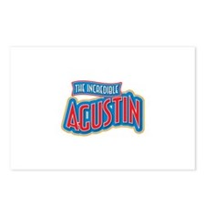 The Incredible Agustin Postcards (Package of 8)