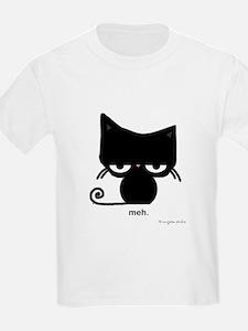 meh cat T-Shirt - kids