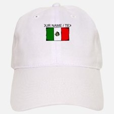Custom Mexico Flag Baseball Cap