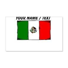 Custom Mexico Flag Wall Decal