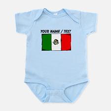 Custom Mexico Flag Body Suit
