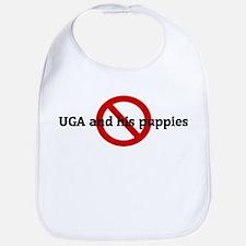 Anti UGA and his puppies! Bib