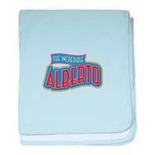 The Incredible Alberto baby blanket