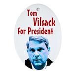 Tom Vilsack for President Tree Ornament