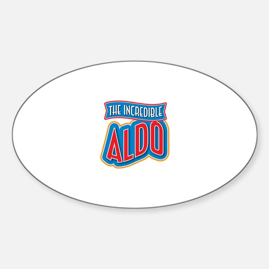 The Incredible Aldo Decal