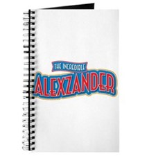 The Incredible Alexzander Journal