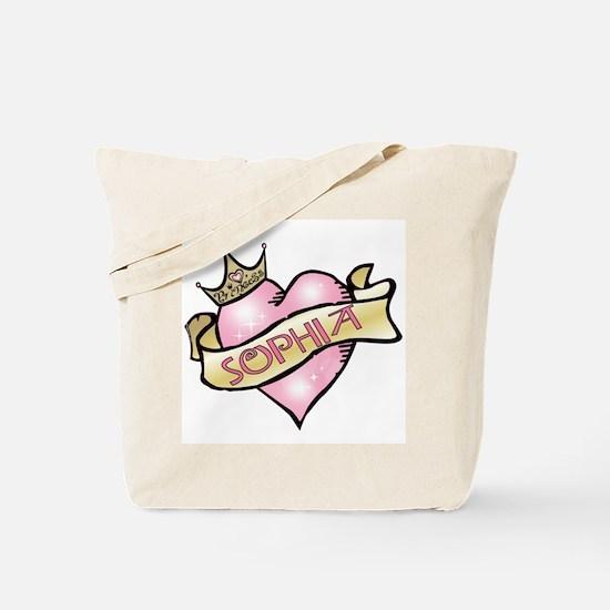 Sweetheart Sophia Custom Princess Tote Bag