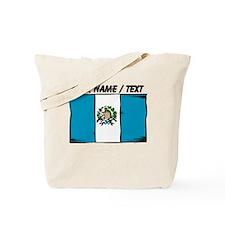 Custom Guatemala Flag Tote Bag