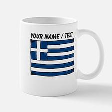 Custom Greece Flag Mug