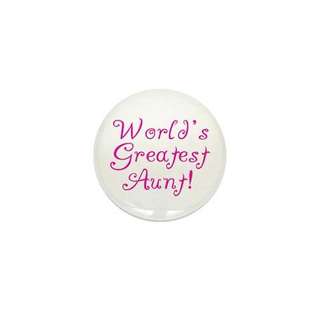 World's Greatest Aunt! Mini Button