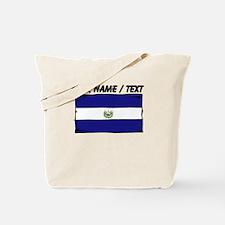 Custom El Salvador Flag Tote Bag