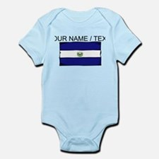 Custom El Salvador Flag Body Suit