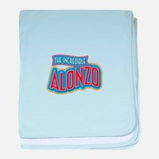 The Incredible Alonzo baby blanket