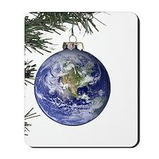 World Ornament Mousepad