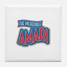 The Incredible Amari Tile Coaster