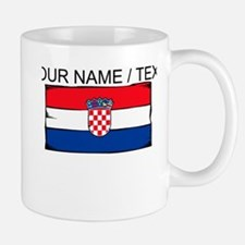 Custom Croatia Flag Mug