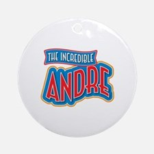The Incredible Andre Ornament (Round)