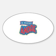 The Incredible Andre Decal