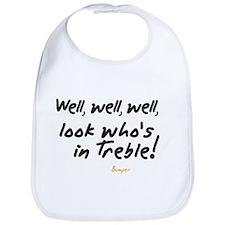 Treble Pun Bib