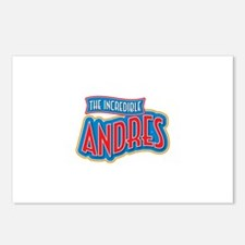 The Incredible Andres Postcards (Package of 8)