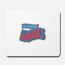 The Incredible Andres Mousepad