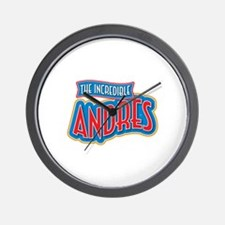 The Incredible Andres Wall Clock
