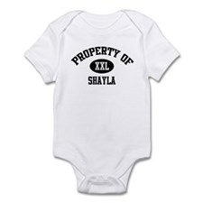 Property of Shayla Infant Bodysuit