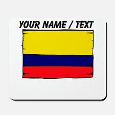 Custom Colombia Flag Mousepad