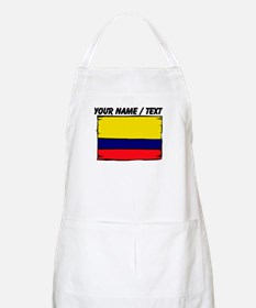 Custom Colombia Flag Apron