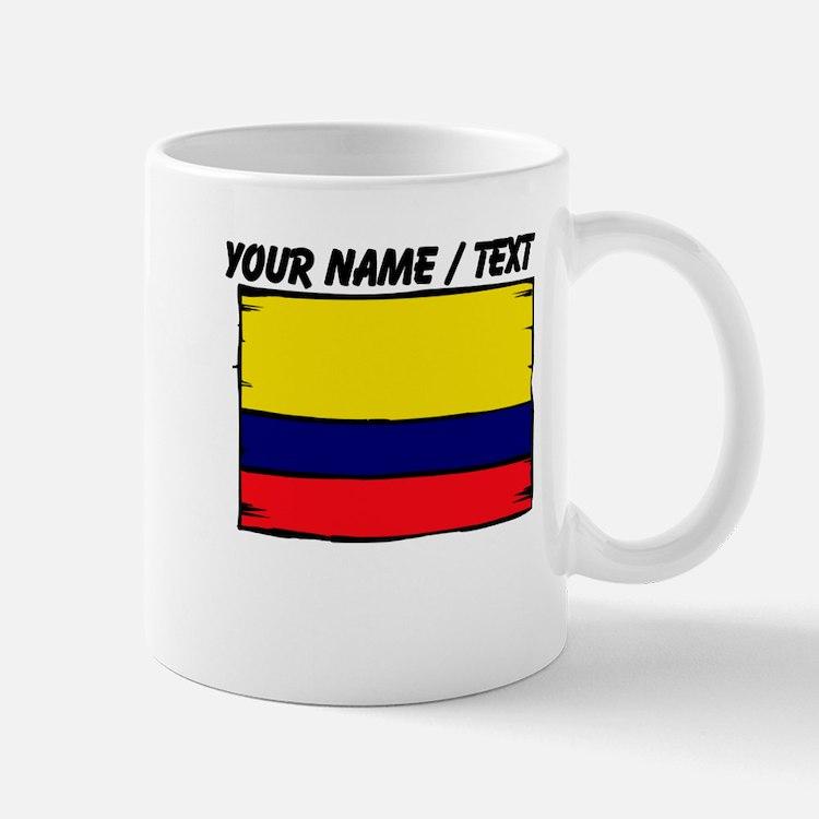 Custom Colombia Flag Mug