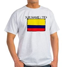 Custom Colombia Flag T-Shirt