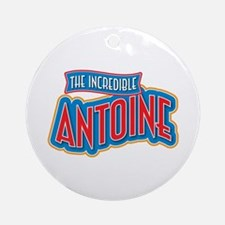 The Incredible Antoine Ornament (Round)