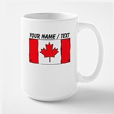 Custom Canada Flag Mug